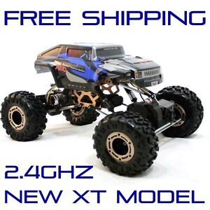 New Redcat Racing ROCKSLIDE RS10 XT 1/10 Electric RC Rock Crawler 2.4Ghz RTR