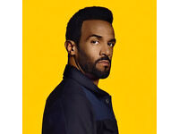 Craig David @ The 02 Sunday 26th March - Standing Tickets