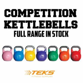 Competition Kettlebells Starting from $35 (6kg-32kg)