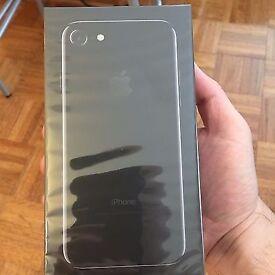 Brand New Unopened iPhone 7 Jet Black 128 gb