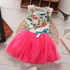 New Princess girls floral dress East Cannington Canning Area Preview