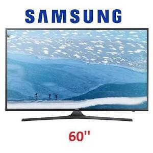 NEW OB SAMSUNG 60'' UHD 4K SMART TV - 115420759 - KU6290