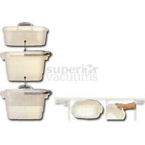 Caddy For Rectangular Bucket, Holds Cleaning Supplies Fits Into 4 Gallon Bucket