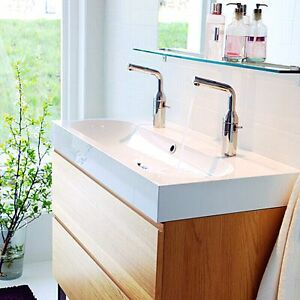 On hold - Ikea double vanity sink- selling sink only