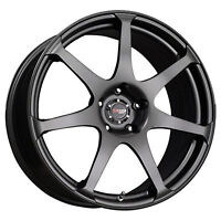 NEW 4 SET DRAG ALLOY WHEELS BLACK  FITS MERCEDES C350