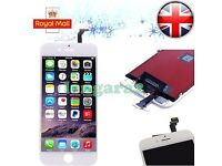 """White For iPhone 6 4.7"""" Screen LCD Touch Replacement Display Assembly Digitizer"""