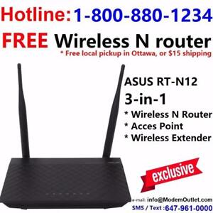 FREE Tomato VPN or DD-WRT wireless router with Unlimited Cable internet plan $35/mon,call 613-207-8888 or 1-800-880-1234