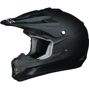 NEW AFX FX-17 ATV/MOTOCROSS/OFFROAD HELMET, FLAT BLACK, X-LARGE