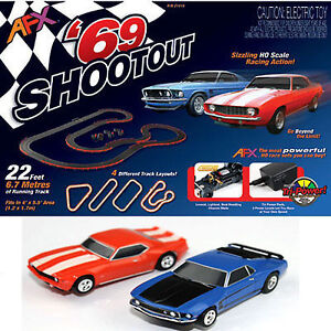 AFX Muscle Car Shootout