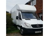 Sprinter Luton with tail lift for sale