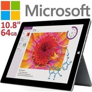 "REFURB MICROSOFT SURFACE 3 64GB - 129749617 - 10.8"" DISPLAY TABLETS REFURBISHED"