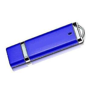 Ultra-Portable 32GB USB 2.0 Flash Drive - Blue