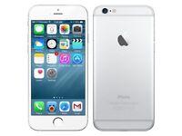 iPhone 6 64GB silver unlocked