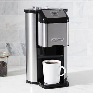 COFFEE MAKER STAINLESS STEEL (ON/OFF GRIND/BREW)