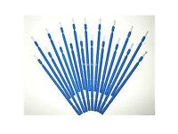 50 micro dental brushes for teeth whitening or eyelash extensions or painting