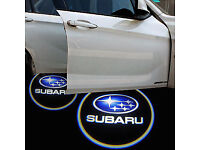 2 x SUBARU 3D COB LED DOOR LOGO COURTESY LIGHT LASER GHOST PROJECTOR SHADOW PUDDLE LAMPS