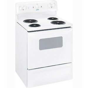 Moffat Electric range 1 month old