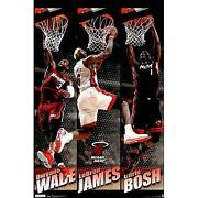 Lebron James Miami Heat Poster