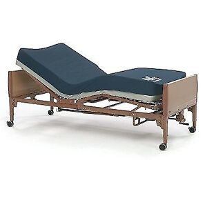 Electric Hospital Bed with brand NEW Mattress & side rails