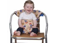 Totseat Travel highchair Brand New in Box Paddington Bear Unisex Design