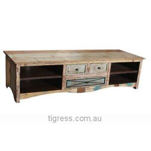 """NEW """"Collaroy"""" Hardwood TV Entertainment Unit 3 Drawer 180cm Castle Hill The Hills District Preview"""