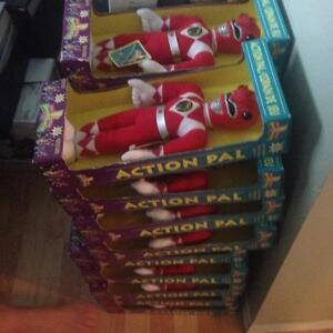 19 olden day toy power rangers