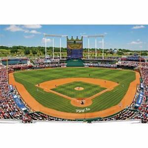 Like New, Fathead Wall Graphic; MLB Kansas City Royals Kauffman Stadium Mural (Pick Up Only) - PU6