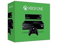 XBOX ONE 500gb with KINECT. BRAND NEW IN THE BOX AND SEALED