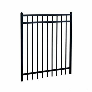"Black Fence Panel 48""x96"""