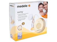 Hardly used Medela Swing Electric breast pump, from a smoke free and pet from home.Well looked after