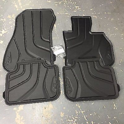 BMW Genuine All Weather Rubber Front  Rear Floor Mats Set X1 F48 51472406753