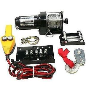 ATV Winch Motor Kit With Weather Resistant Toggle Switch 2500LB