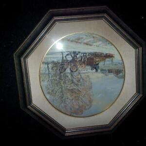 4 Framed Peter Etril Snyder Collector Plates Kitchener / Waterloo Kitchener Area image 2
