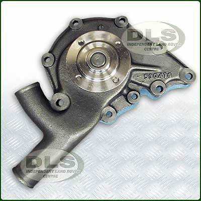 Water Pump 2.25 Pet/Die 9 hole fitting Land Rover Series 2a and 3 (STC3758)