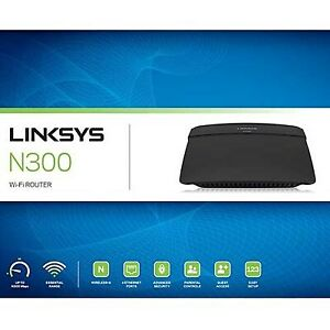 !@!new Routeur LINKSYS E1200 WIRELESS N router wifi