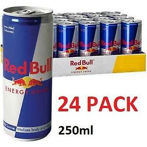 NEW RED BULL ENERGY DRINK 24PK 238756172 1 CASE OF 24 CANS 250ml EXP: 30/03/2020