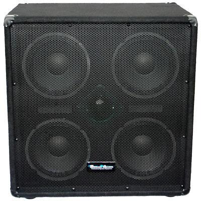 Seismic Audio NEW 4x8 Bass Guitar Speaker Cabinet w/Horn 500 Watt Cab