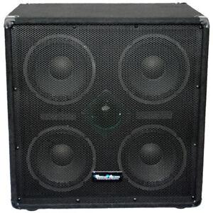 seismic audio new 4x8 bass guitar speaker cabinet w horn 500 watt cab ebay. Black Bedroom Furniture Sets. Home Design Ideas