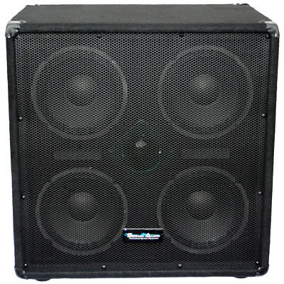 Seismic Audio 4x8 Bass Guitar Speaker Cabinet PA DJ 500 Watts With ...