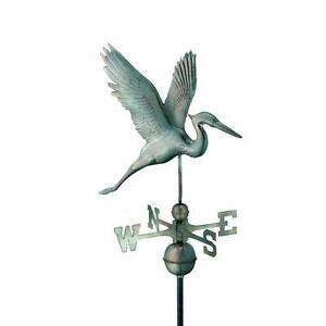 New, Good Directions Graceful Heron Weathervane (open box) MSRP $420