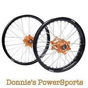 KTM Orange Wheels