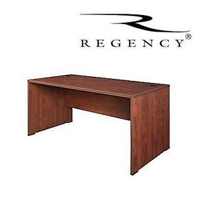 NEW* REGENCY SANDIA 66'' DESK 2 BOXES - CHERRY FINISH 105225574