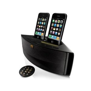 Altec Lansing Octiv Duo M202 iPod/iPhone Dual-Dock Speaker System Dual Charging