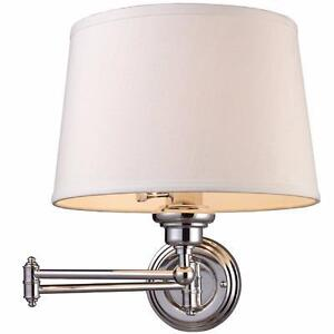 Daisy Swing Arm Wall Sconce by Darby Home Co NEW