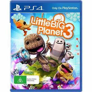 PLAYSTATION 4 GAME - LITTLE BIG PLANET 3 - PS4 Mount Lawley Stirling Area Preview