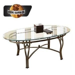NEW SSC MADRID COFFEE TABLE 2 BOXES - STEVE SILVER COMPANY - POWDER PAINT FINISH 105366476