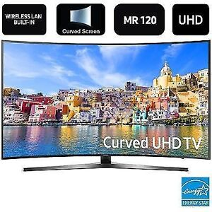 BRAND New Samsung 49, 55 & 65 inch 4K HDR Curved smart tv MU6500