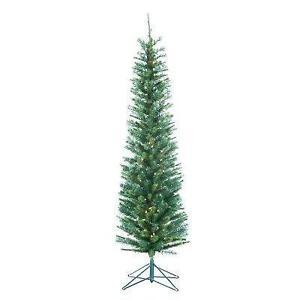 pre lit pencil christmas tree - Ebay Christmas Trees