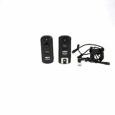 Neewer FC-16 Flash Trigger Set with Transmitter, & Receiver for Nikon EX