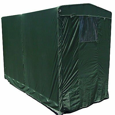 Portable Motorcycle Storage Garden Canopy Cover Garage Tool Shed 5x10 w/shelves